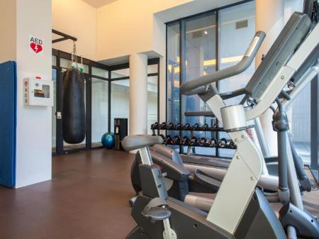 Fitness center Days Hotel by Wyndham Singapore At Zhongshan Park
