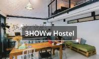 3Howw hostel at Khaosan