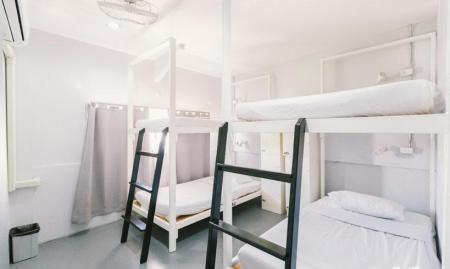 1 Person in 4-Bed Dormitory - Female Only - Bed 3 Howw Hostel at Khaosan