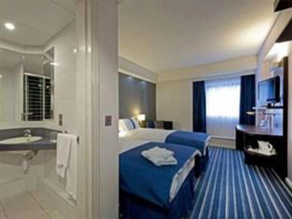 1 Double Bed Wheelchair Accessible Non-Smoking - 客房 貝爾法斯特市皇后區智選假日飯店 (Holiday Inn Express Belfast City Queens Quarter)