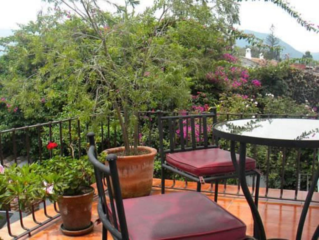Balcony/terrace Hotel Casa Madeleine B&B & Spa