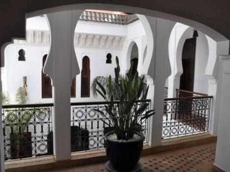 Balcony/terrace Riad Charme d'Orient Adults Only