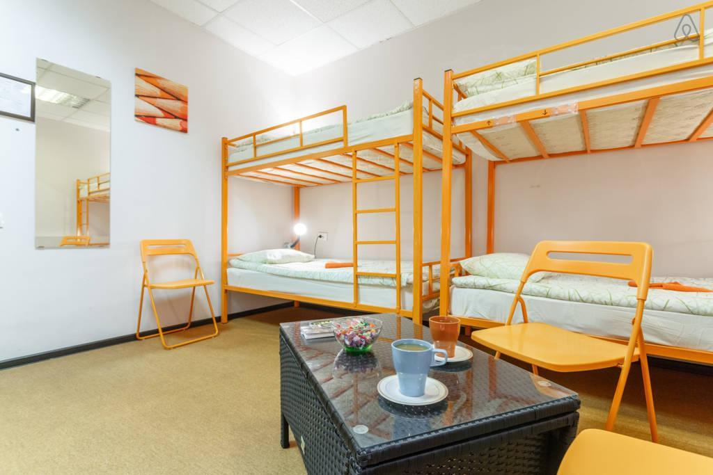 Bett in gemischtem Schlafsaal (6 Betten) (6 Mixed Dormitory Room)