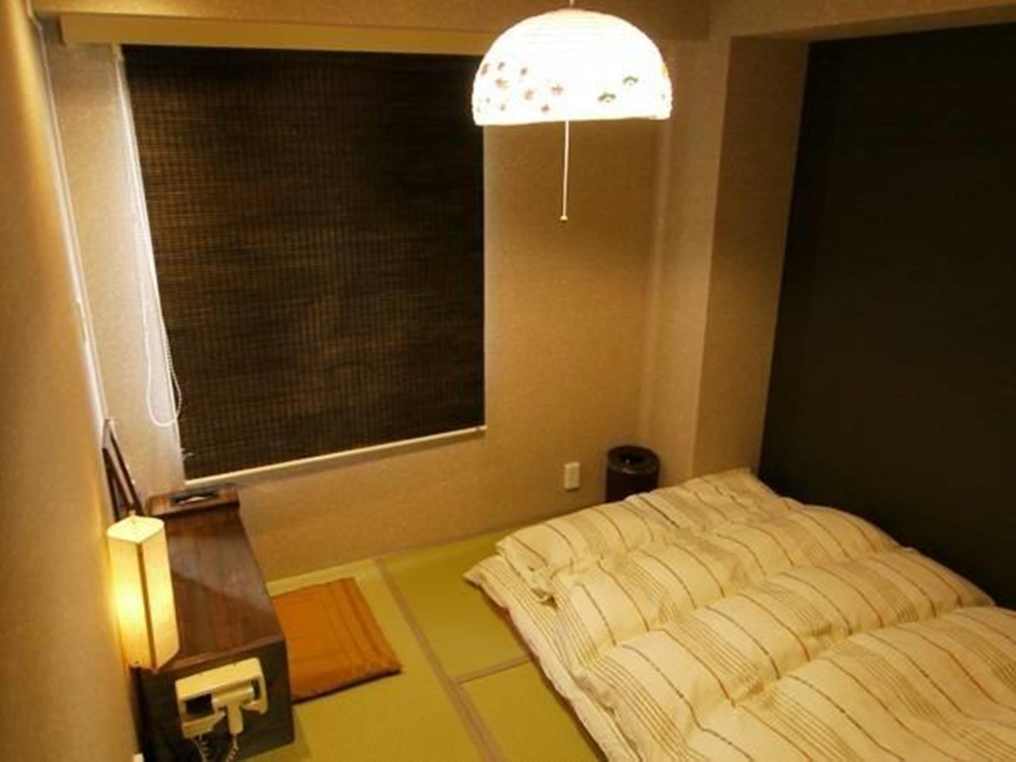 日式雙人間- 帶私人浴室 (Japanese-Style Double Room with Private Bathroom)