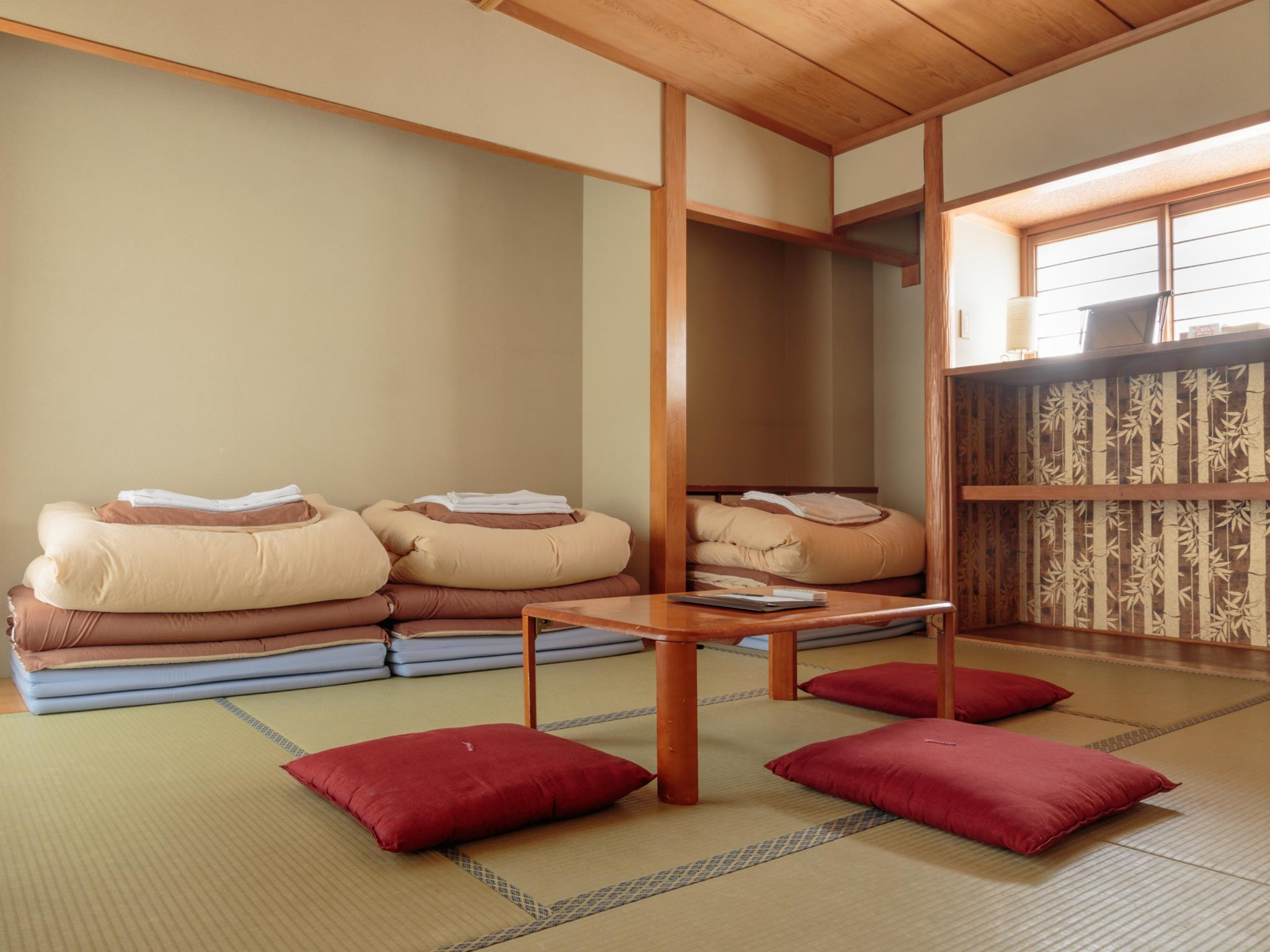 Japanese Style Room with Shared Bathroom