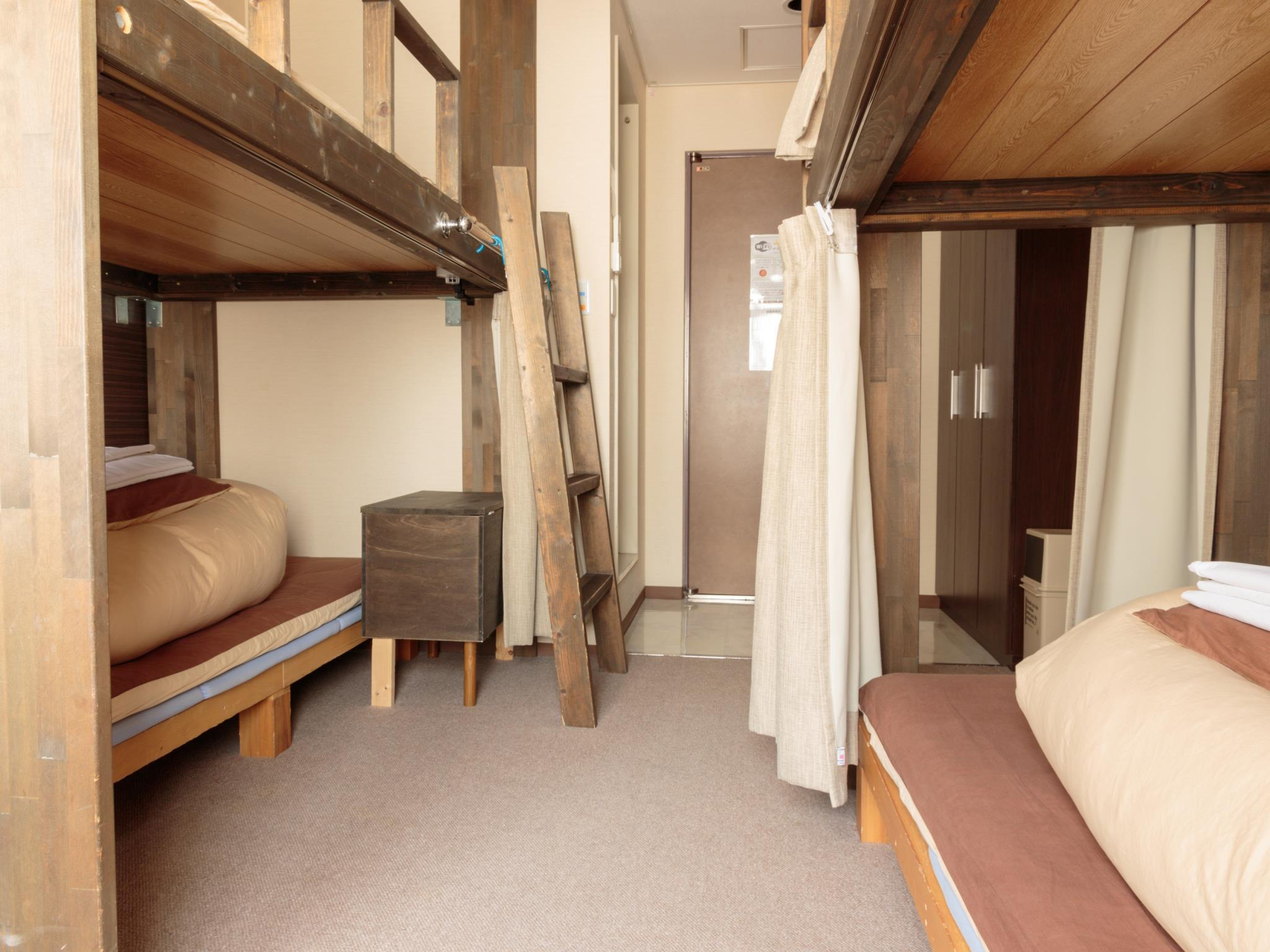 1 Person in 4-Bed Dormitory with Private Bathroom - Mixed