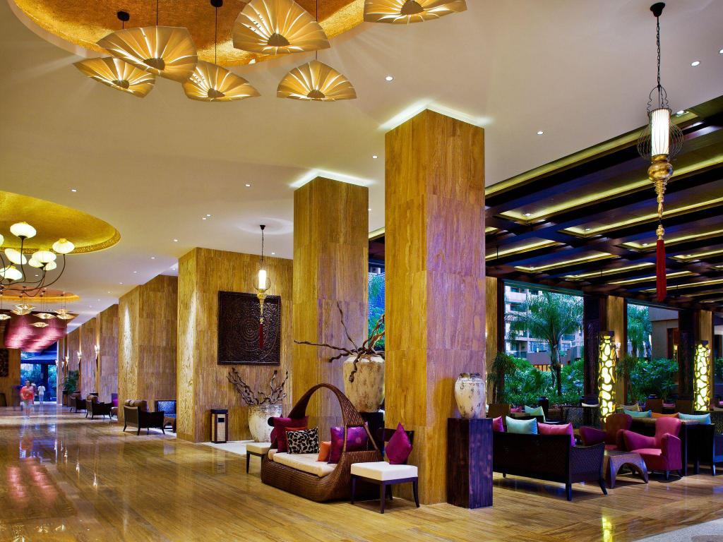 Lobby Mangrove Tree Resort World Sanya Bay Kapok Tower