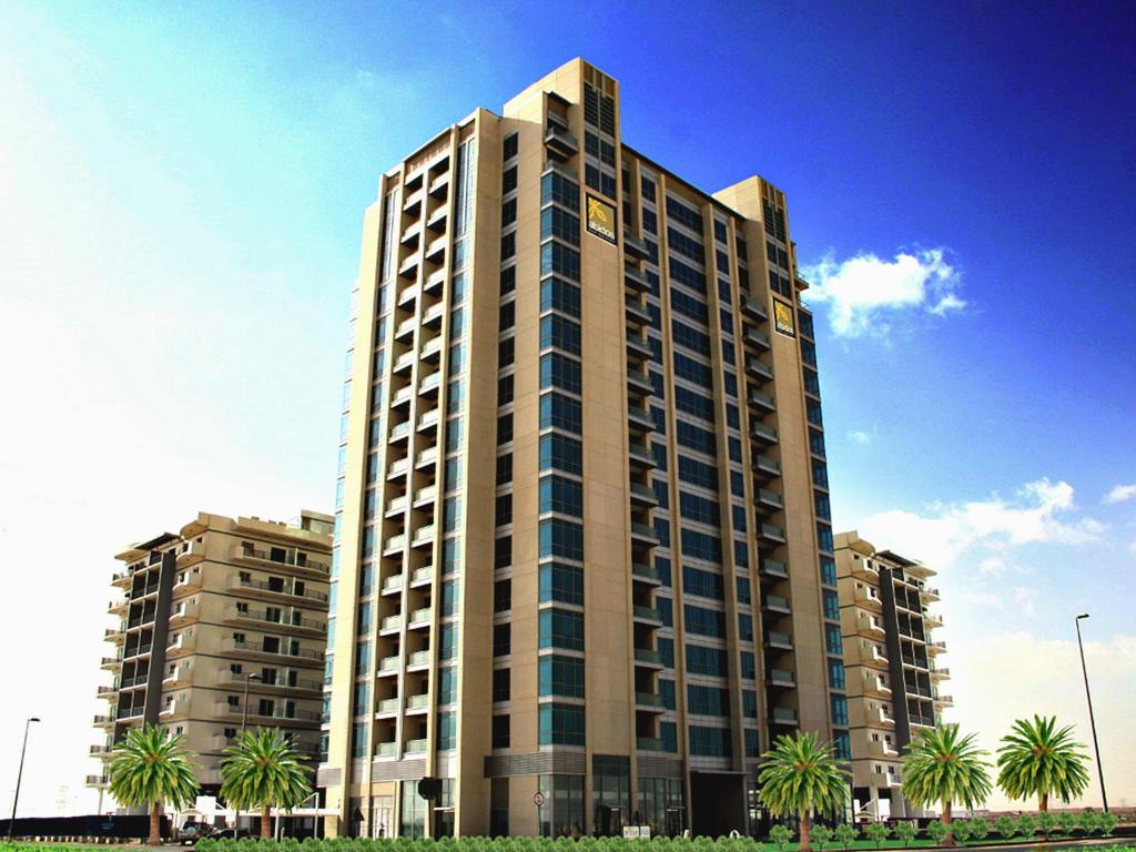 Best price on abidos hotel apartment dubailand in dubai for Best suites in dubai