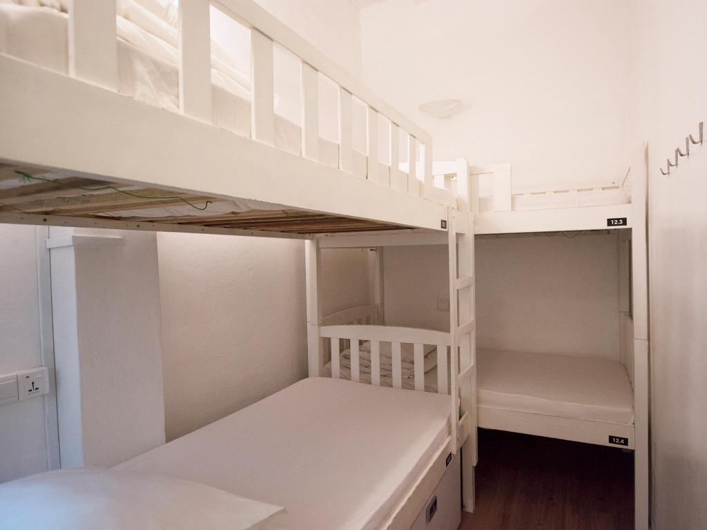 1 Person in 4-Bed Dormitory with Bathroom - Mixed