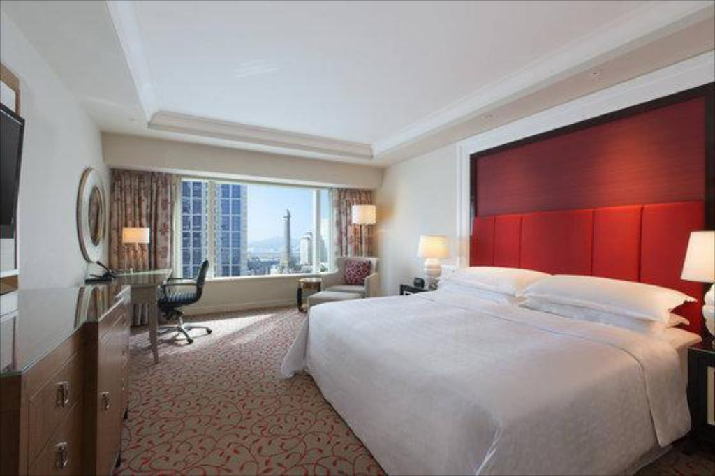 Deluxe King, Guest room, 1 King Sheraton Grand Macao Hotel, Cotai Central