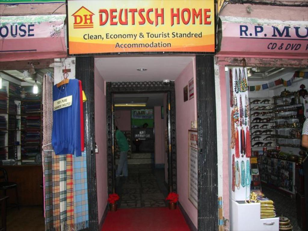 Deutsch Home im Detail