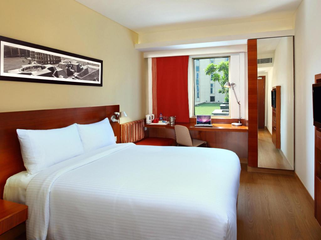 Standard Queen - Bett ibis New Delhi Aerocity - An AccorHotels Brand