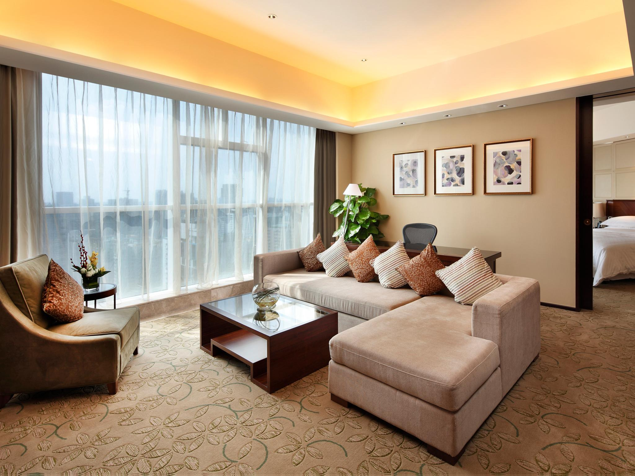 Apartment Suite, Club lounge access, 1 Bedroom Suite, 1 King