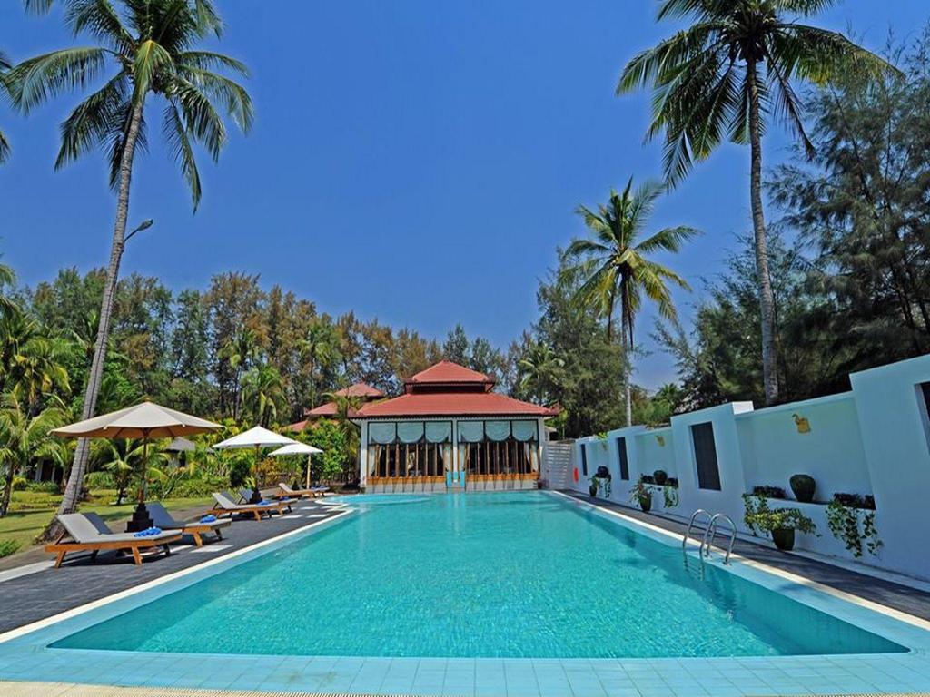 Swimming Pool Outdoor Thande Beach Resort Ngapali