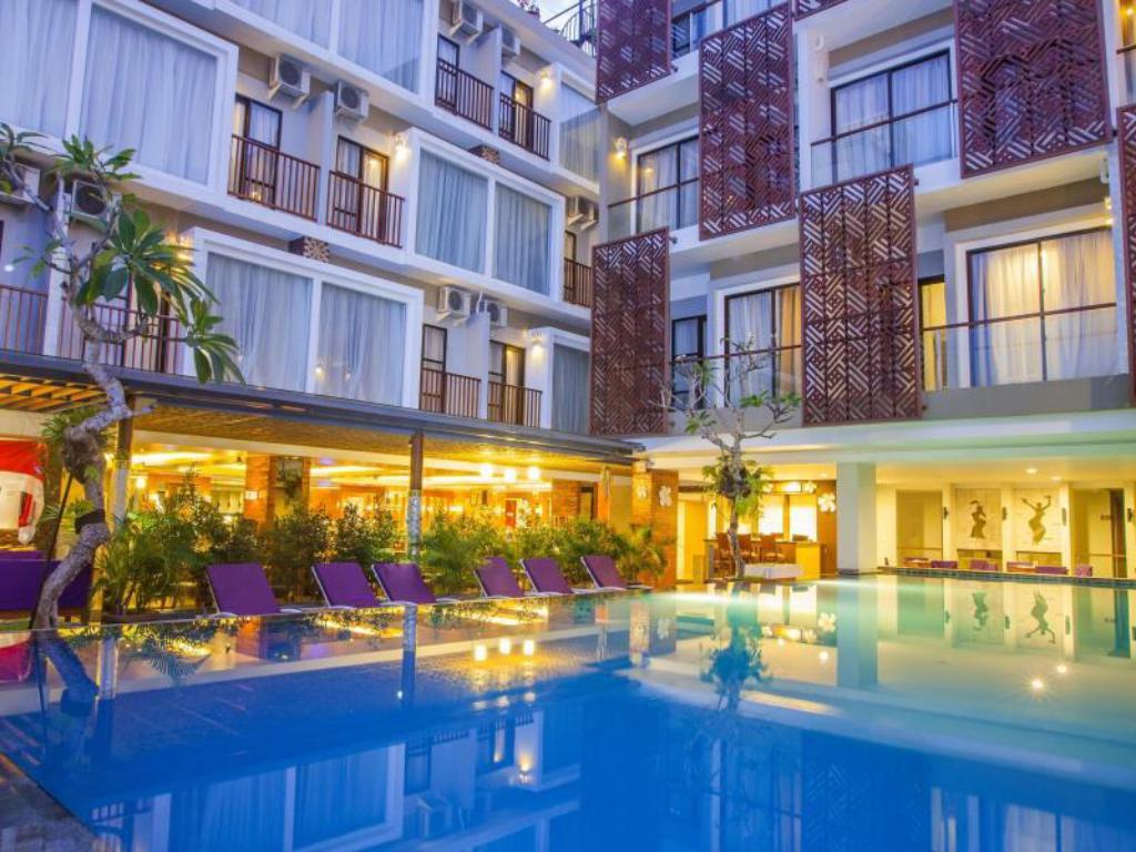 Best price on hotel horison seminyak bali in bali reviews for Cheap hotels in bali