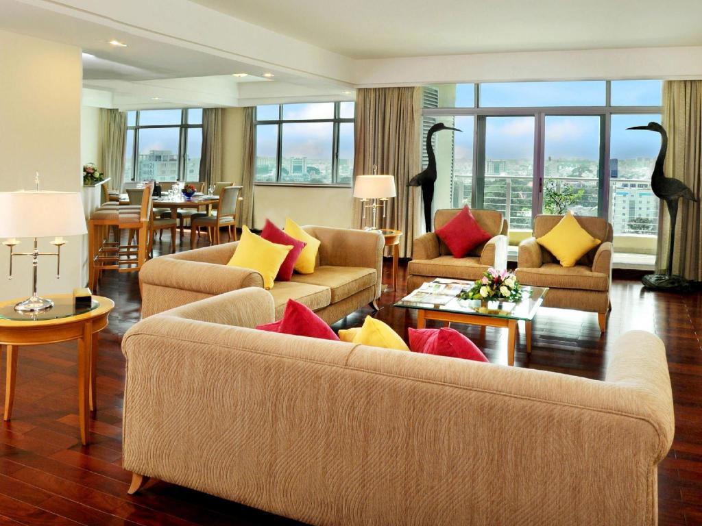 Penthouse - Lounge Indochine Park Tower Serviced Apartment