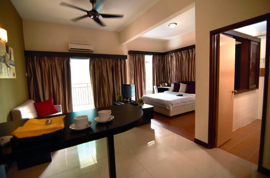 Studio Apartment Bed
