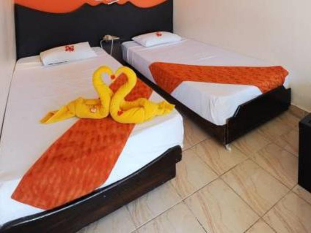 Double Room with Garden View - Bed Aida Hotel