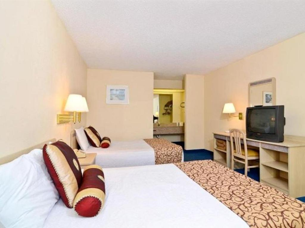 Double with 2 Double Beds - Bed Americas Best Value Inn Helen