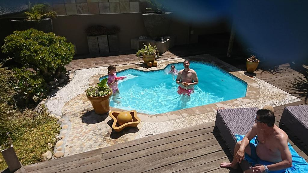 Swimming pool [outdoor] Kumbaya House West Beach Cape Town Non-Self-Catering Establishment