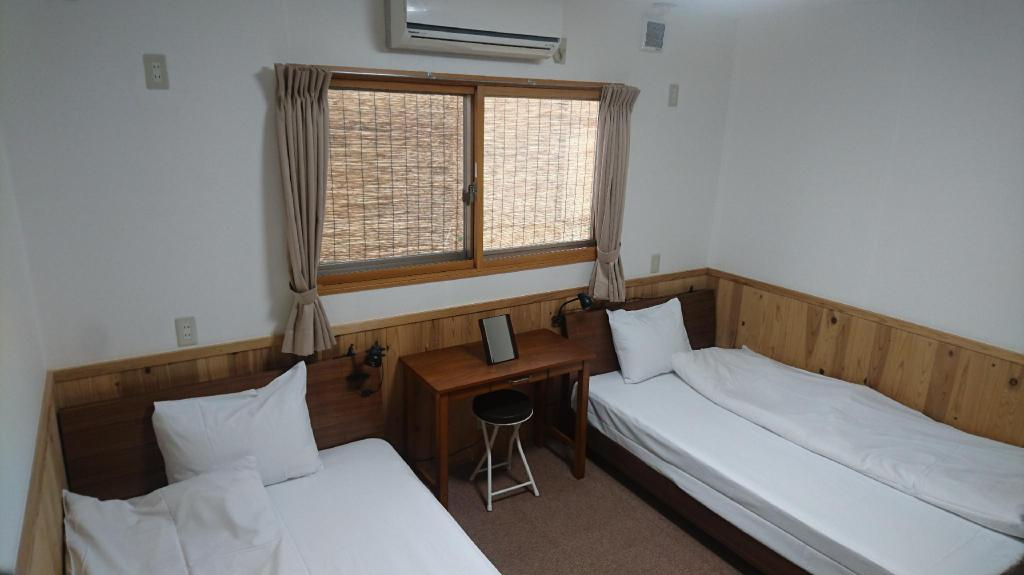 Standard Twin Room - Non-Smoking - Room plan Guesthouse Jiyujin