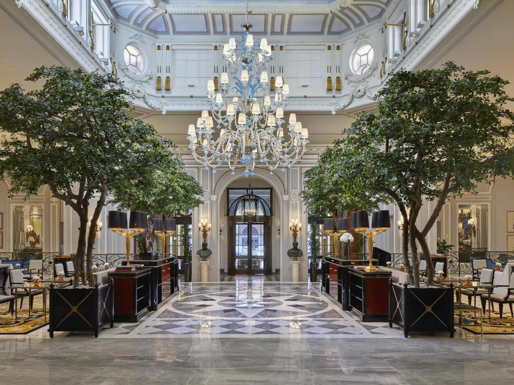 Lobby The St Regis Rome