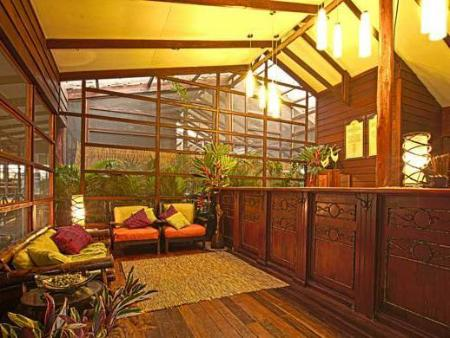 Interior view Pachira Lodge