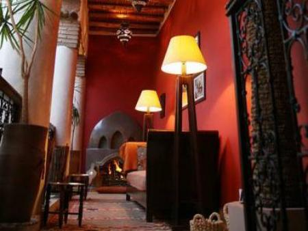 Interior view Riad Boussa