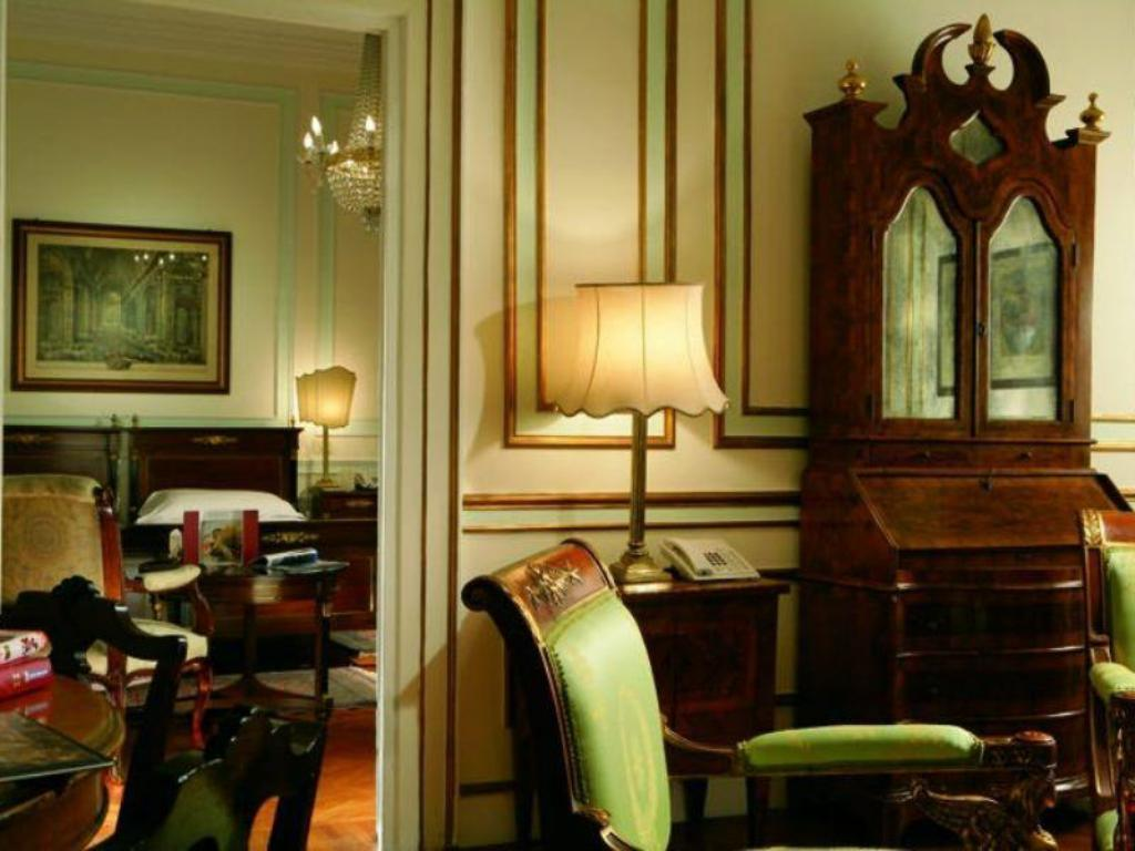 Interior view Quirinale Hotel