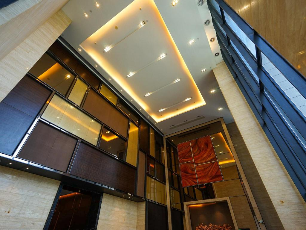 Lobby YS Residence Poly World Trade Center Guangzhou