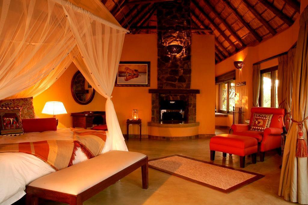 Luxury bush villa - helpensjon - Gjesterom Motswiri Private Safari Lodge