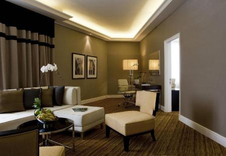 Grand Suite, 1 Bedroom Suite, 1 King, Garden view - Room plan The Majestic Hotel Kuala Lumpur, Autograph Collection