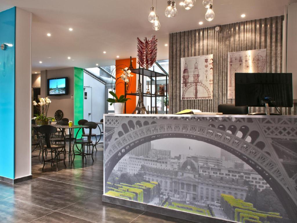 Cuisine Lumineuse Sans Fenetre hotel alpha paris tour eiffel in france - room deals, photos
