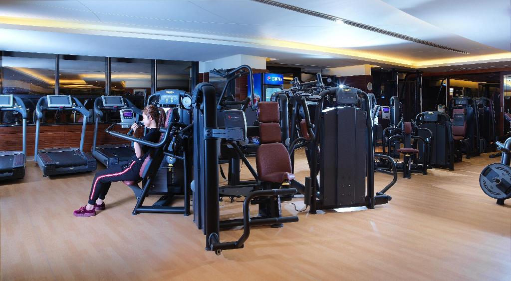 gym Shanghai Marriott Hotel Hongqiao
