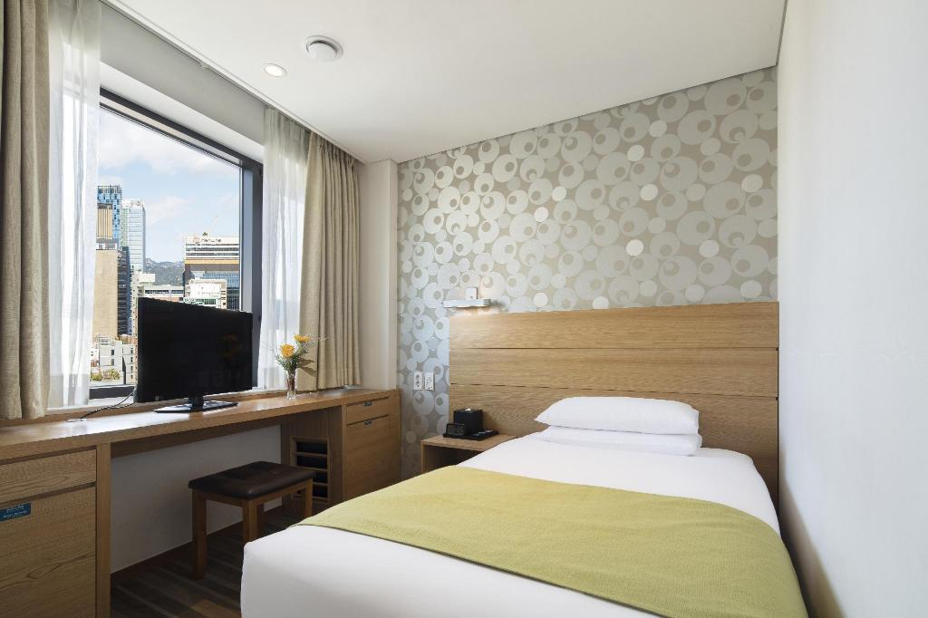 Single - Room - Room plan Nine Tree Hotel Myeong-dong