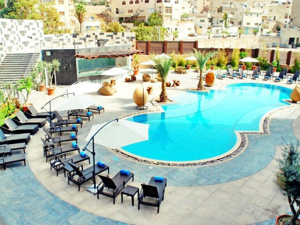 Best price on landmark amman hotel conference center in amman reviews for Hotel shambala swimming pool price