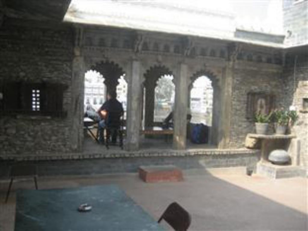 altan/terrasse Lal Ghat Guest House