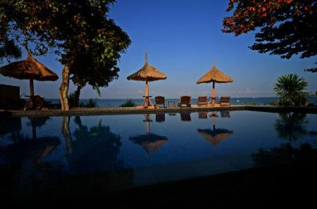 Swimming pool [outdoor] Sunsethouse-Lombok