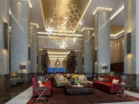 Lobby Crowne Plaza Xuzhou Dalong Lake