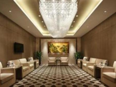 Hotellet indefra Crowne Plaza Xuzhou Dalong Lake