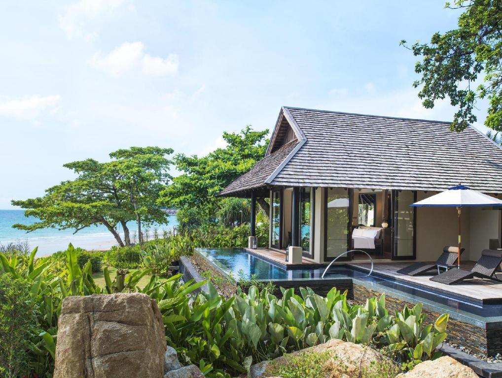 Tropical Pool Villa, Villa, 1 King, Sofa bed - 景色