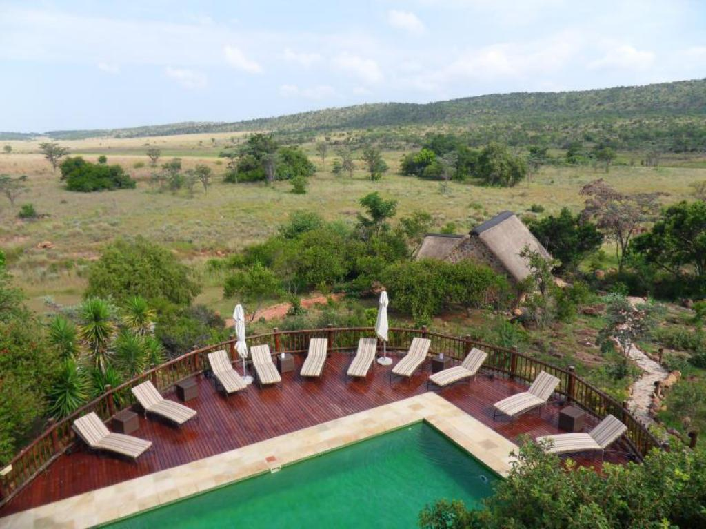 Swimmingpool Kololo Game Reserve