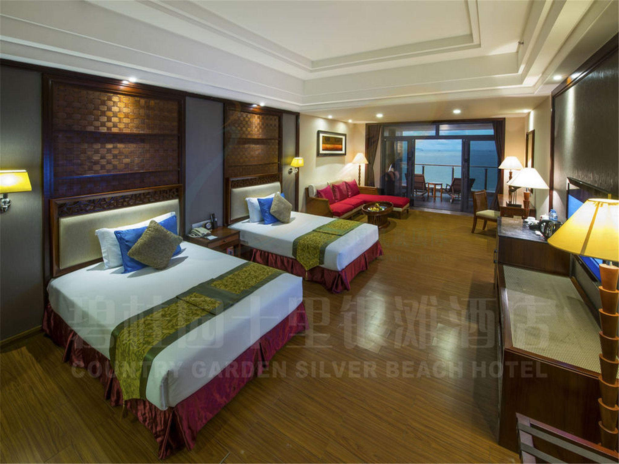 Premium Twin Bed With Sea View