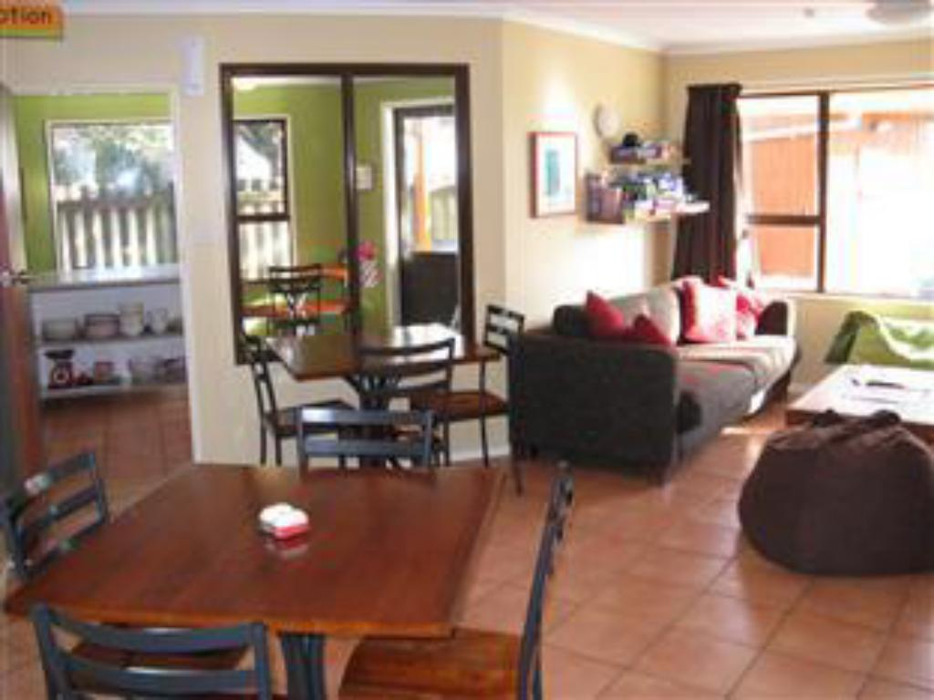 Interior view The Bug Backpackers