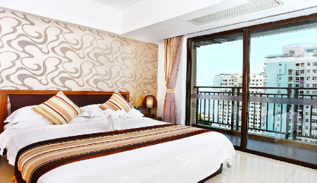 Superior Sea View - Room plan Barry Boutique Seaview Hotel Sanya