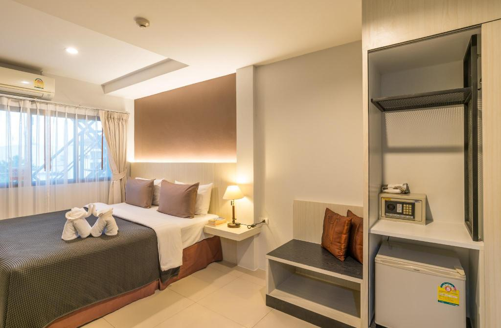 Economy Double Room - Bed Lada Krabi Residence