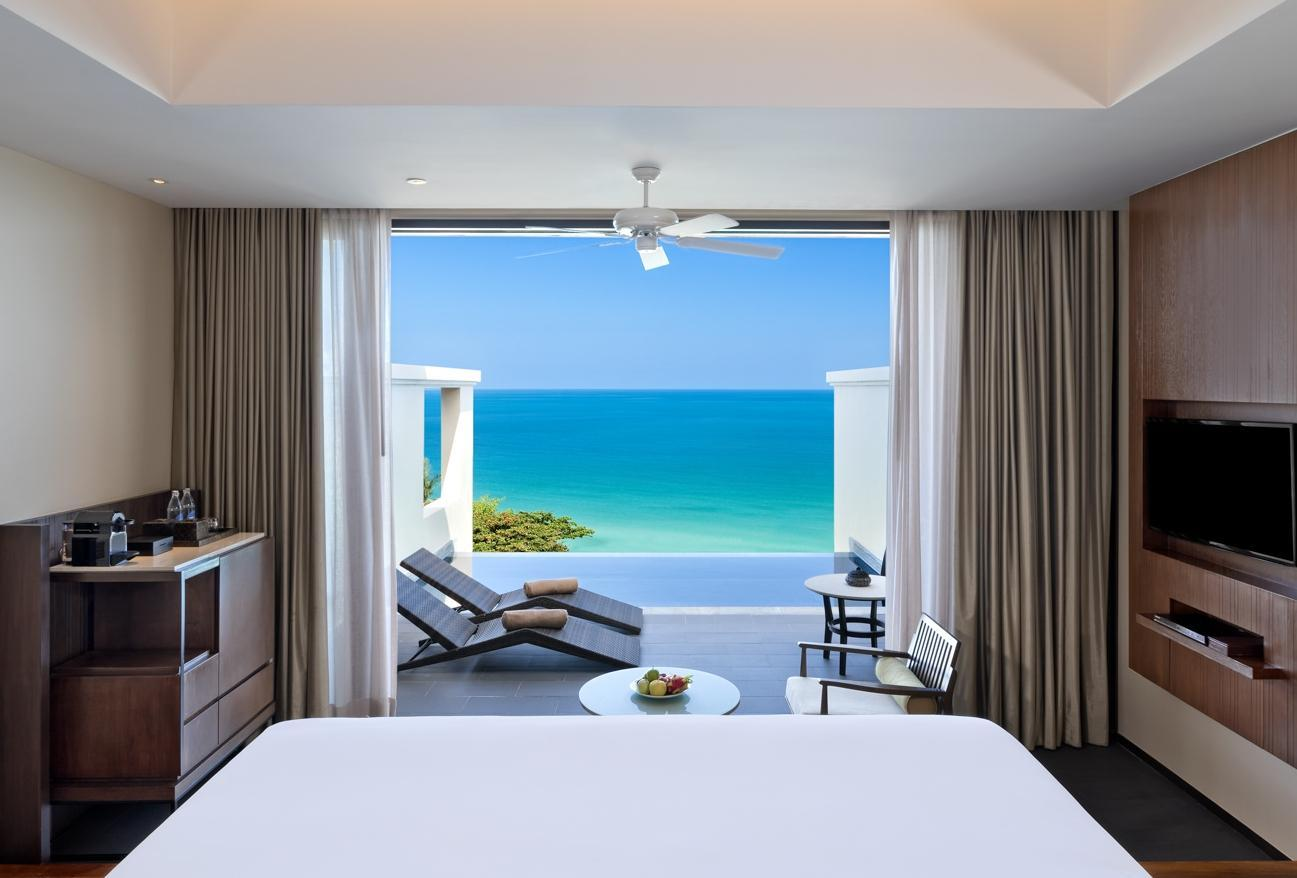Suite Premium avec Vue sur l'Océan, Piscine et Lit King Size (Premium Ocean Pool Suite with 1 King Bed)