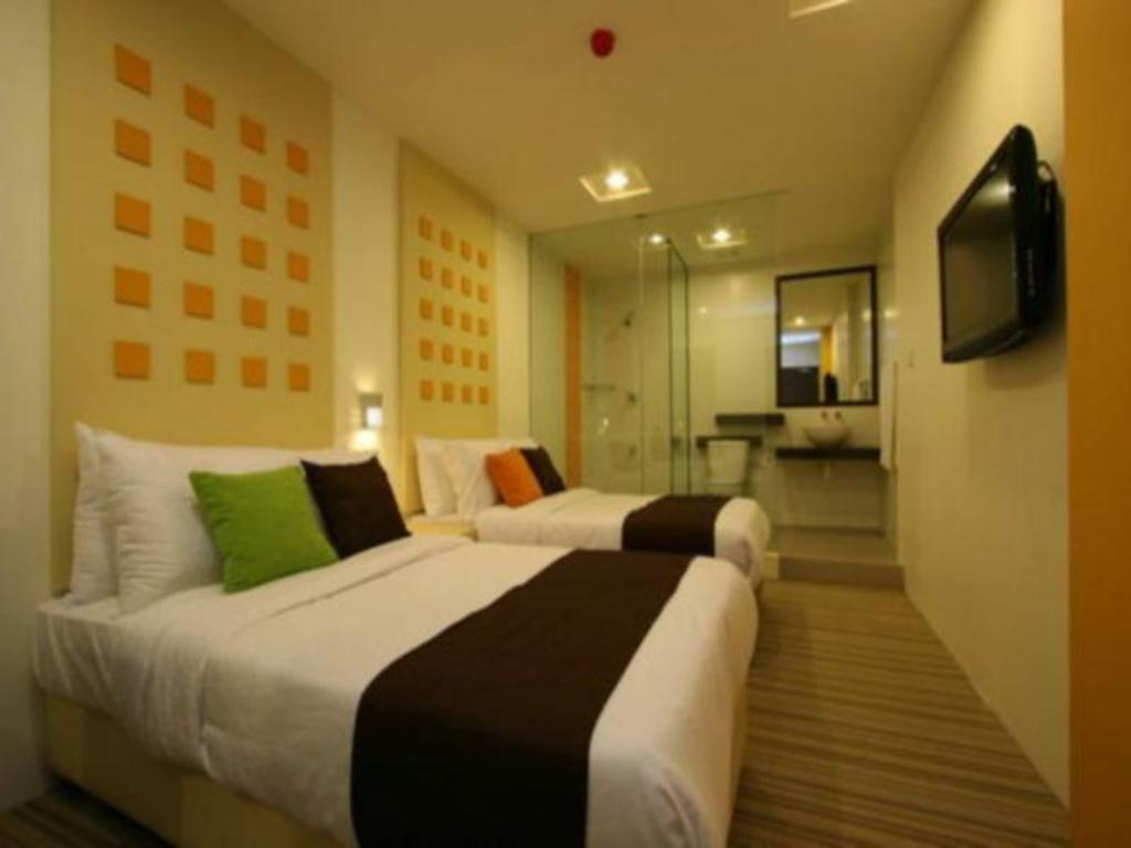 Standard Twin - Bed 360 Xpress Citycenter Budget Boutique Hotel