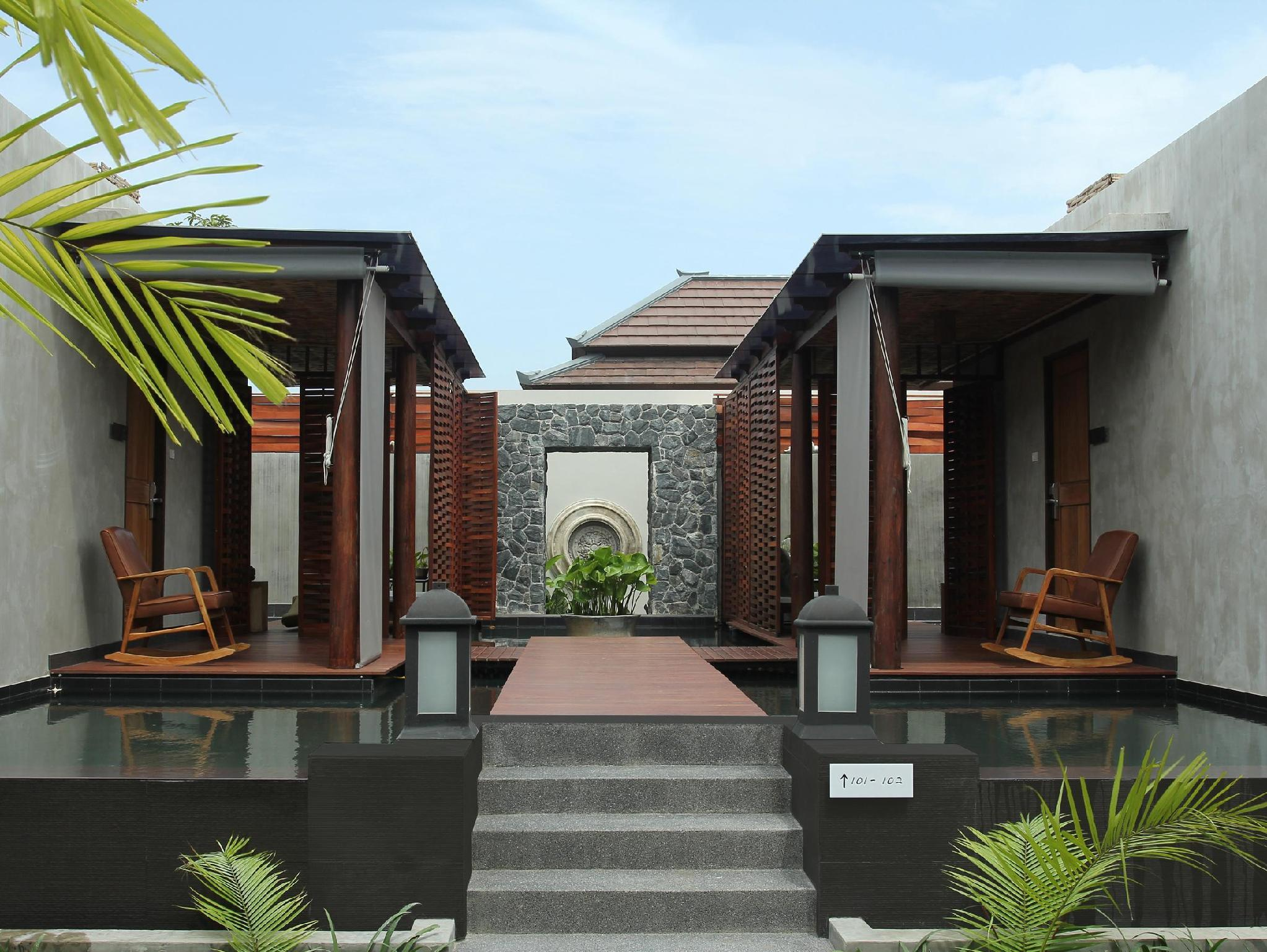 Villa Bulan Madu dengan Kolam Renang (Honeymoon Pool Villa)