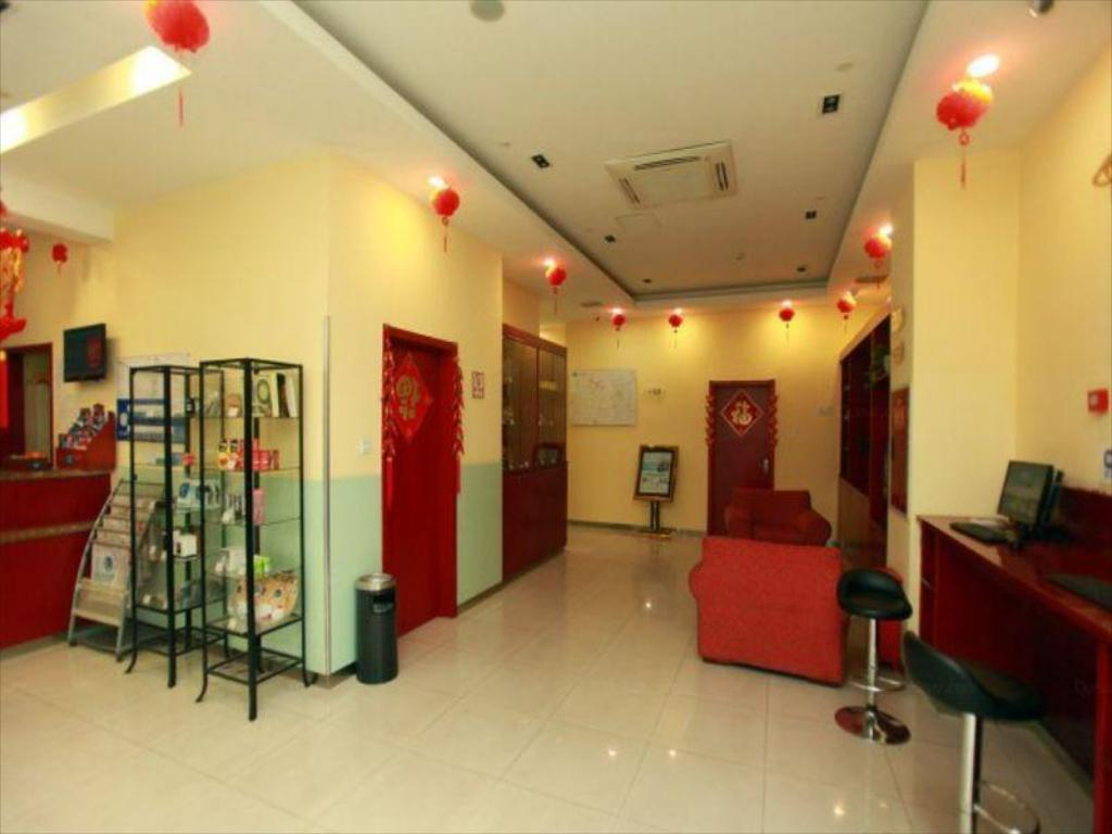 Lobi Hanting Hotel Chengdu Kuanzhai Alley Center Branch